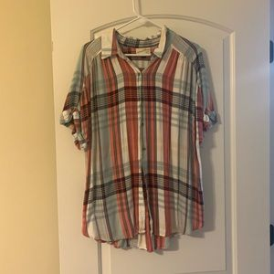 Patriotic Plaid Shirt